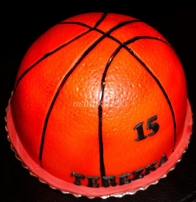 basketbalová lopta