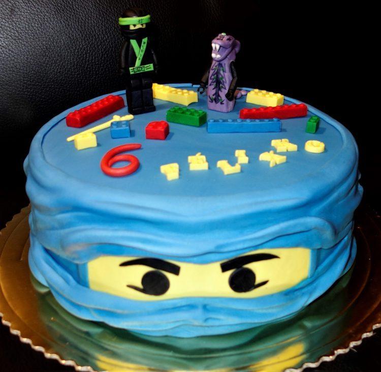 lego Ninjago modrý
