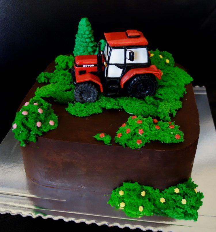 s traktorom